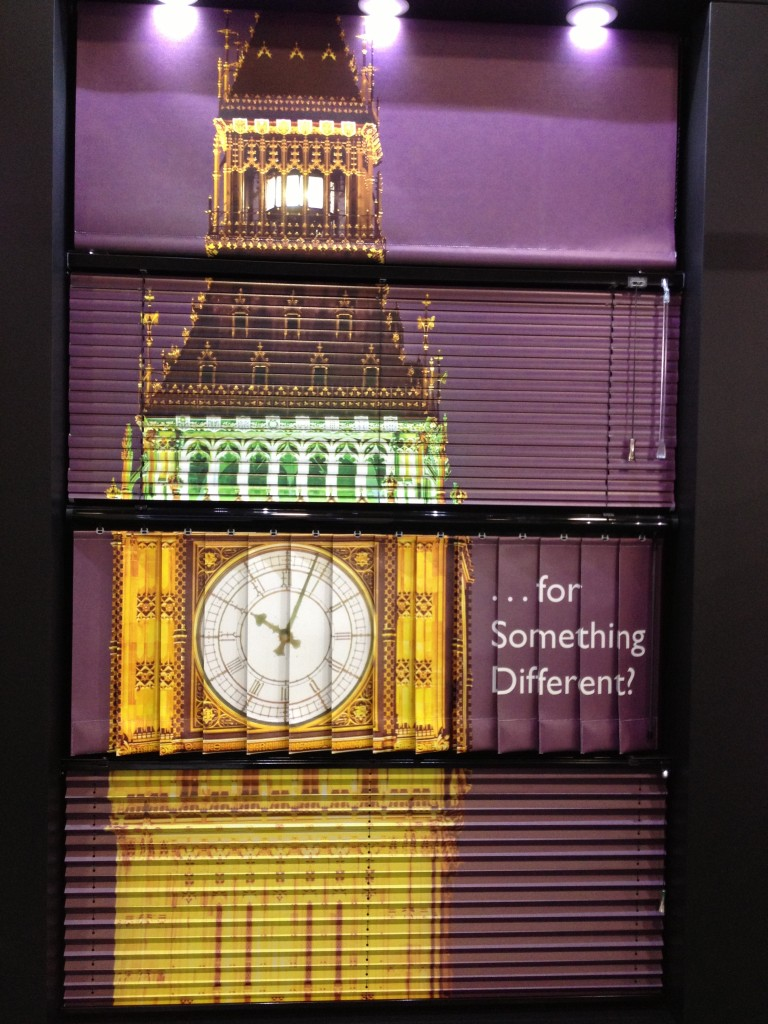 Big Ben Show Blinds