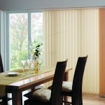 vertical blinds gold