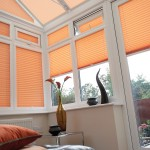 peach conservatory blinds