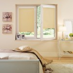 Gold roller blinds perfect fit
