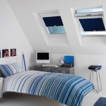 blue roller blinds perfect fit