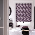Purple Roller Blinds Floral