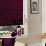 purple roller blinds 2